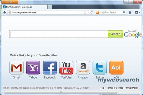Free Website To Find Remove Mywebsearch And Home Mywebsearch Uninstall Guide
