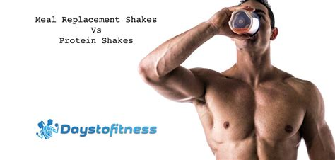 2 protein shakes and a meal diet meal replacement shakes vs protein shakes days to fitness