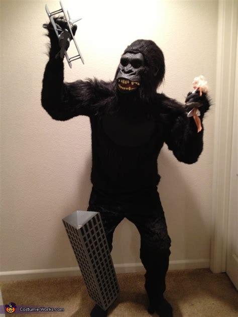 diy king kong costume photo