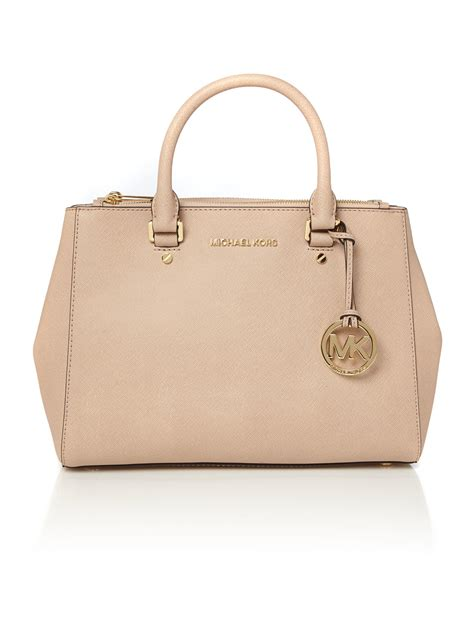 bags for michael kors sutton pale pink medium tote bag in pink lyst