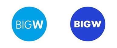 big w brand new new logo for big w