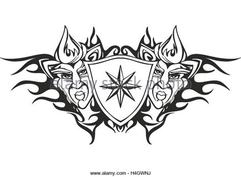 symmetrical tribal tattoos symmetrical stock photos symmetrical stock