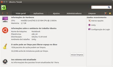 tutorial ubuntu tweak como instalar o ubuntu tweak no ubuntu 15 04 diolinux
