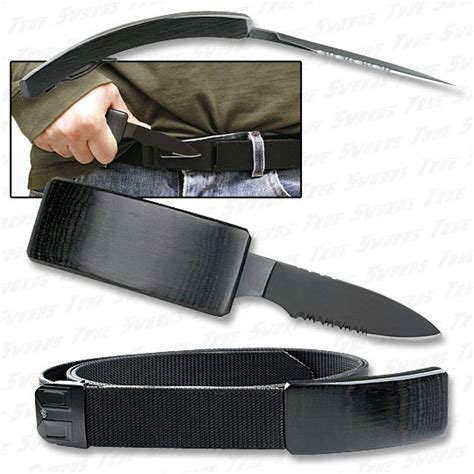 knife on belt belt knife self defense blade belt true swords