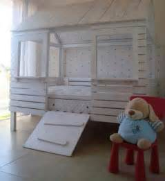 Loft Beds Made Out Of Pallets Toddler Bed Made Out Of Pallets Estilo Mostly Pallets