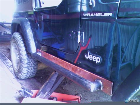 Jeep Tj Rock Sliders How To Install Rock Sliders On A Jeep Wrangler