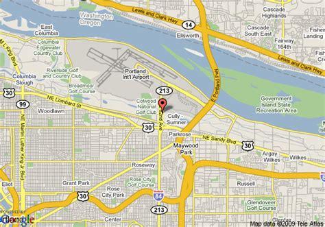 map of oregon airports map of oregon airports oregon map