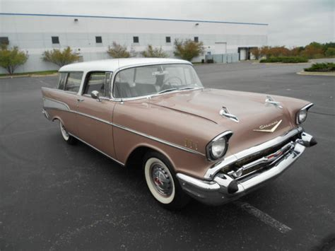 Frame Kacamata Original Nomad 3066 frame original restored 1957 chevrolet bel air nomad dusk pearl color for sale photos