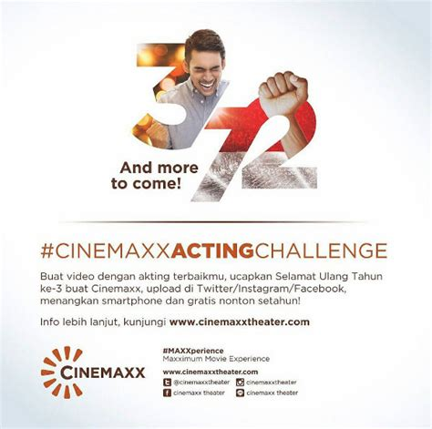 cinemaxx voucher acting challenge