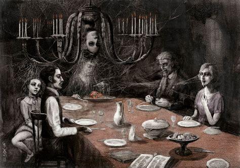 imagenes surrealistas goticas ilustraciones g 243 ticas de tus cuentos favoritos que