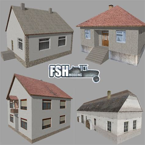 House Of Ls by House Pack V 1 Ls17 Farming Simulator 2017 17 Ls Mod