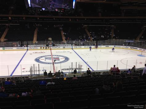 msg section 117 madison square garden section 117 new york rangers