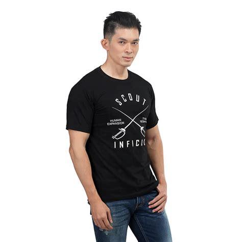 kaos kasual hitam t shirt kaos distro kasual pria sgn 115 produk
