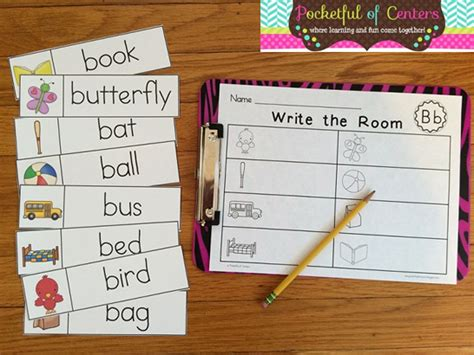 write the room pocketful of centers write the room from a to z