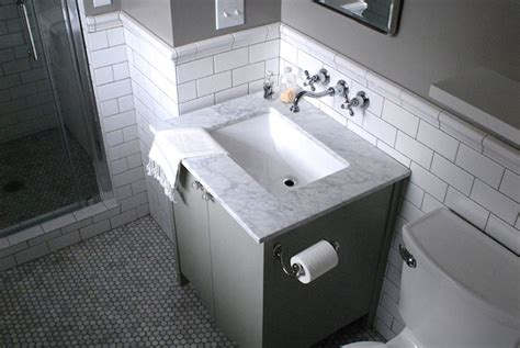 design dark gray bathroom vanity