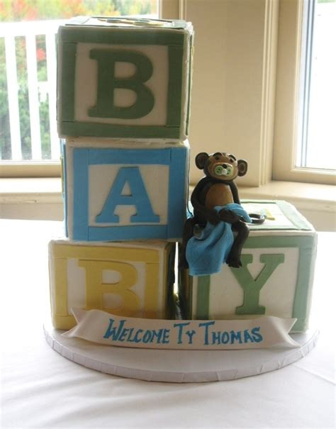 Baby Shower Cakes With Blocks by 23 Best Tristan Cake Images On Birthday