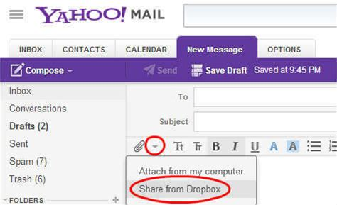 how to send large attachments with gmail and yahoo mail