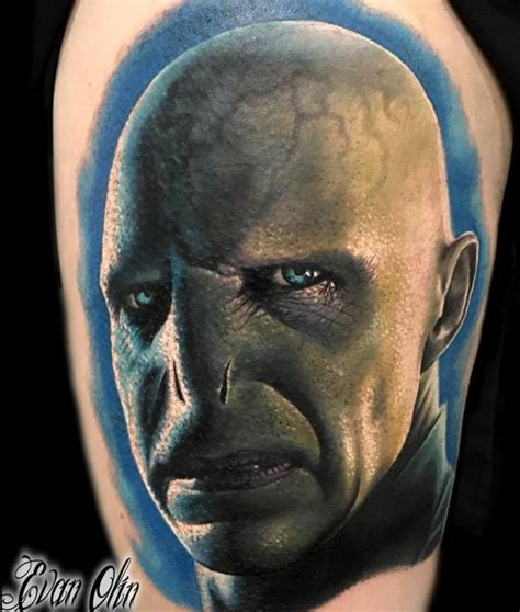 voldemort tattoo powerline tattoos evan olin voldemort from