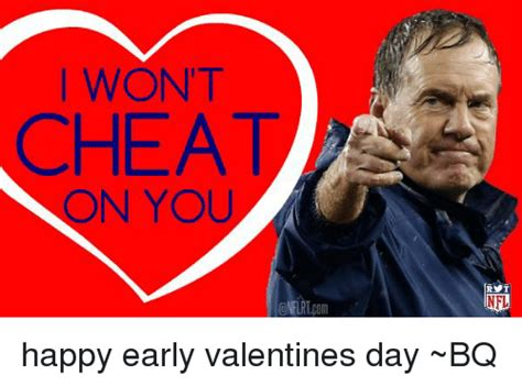 happy early valentines day wont on you cnfurtcom nfl happy early valentines day