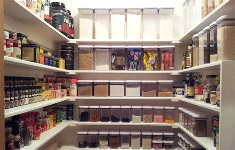 A Well Stocked Pantry by A Look The At One Of In Progress Projects
