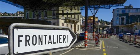 svizzera sondaggio nelle dogane su traffico e spostamenti
