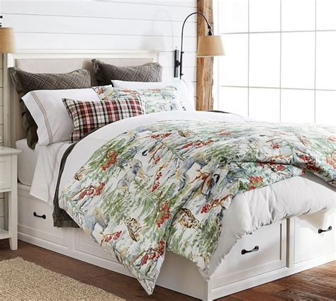 Pottery Barn Stratton Bed With Drawers by Stratton Storage Platform Bed With Drawers Pottery Barn