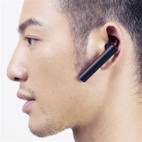 Headset Earphone Xiaomi Original 100 T1910 1 original xiaomi mi bluetooth headset bt4 1 stereo earphone