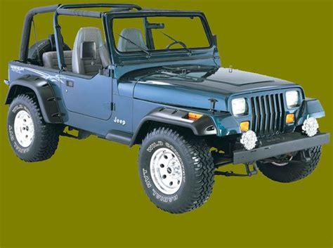 jeep fender flares bushwacker jeep fender flares