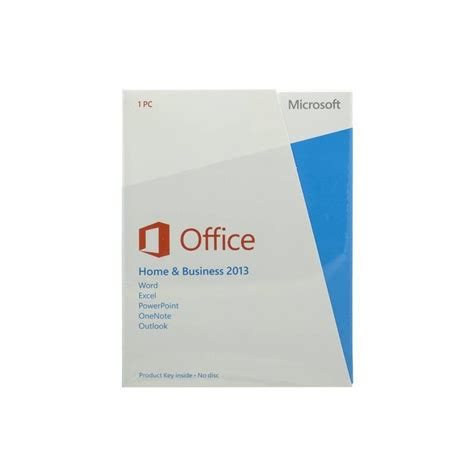 Microsoft Office Business microsoft office home and business 2013 for 1 pc