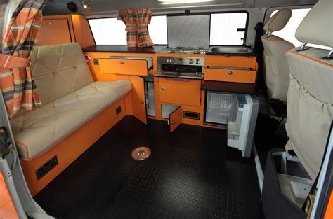 Camper Floor Plans by Vw T2 Rio From Danbury Campervans Caravans And Trailers