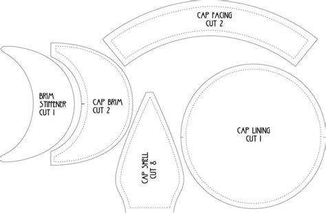 welding cap pattern free download flat cap pattern by lastwear on deviantart link to video