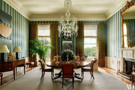 family dining room wanna see how the obamas live architectural digest takes