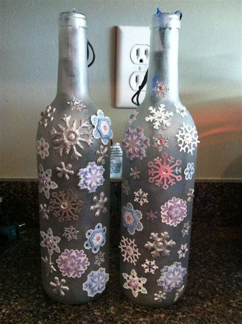 decorated wine bottles diy crafts that i love pinterest