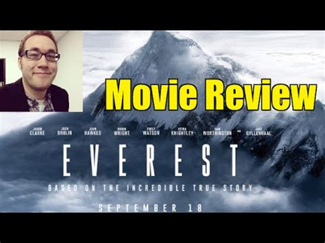 everest quick movie review youtube everest movie review live youtube