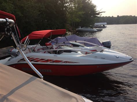 sea doo boat with outboard sea doo speedster 200 2005 for sale for 13 000 boats
