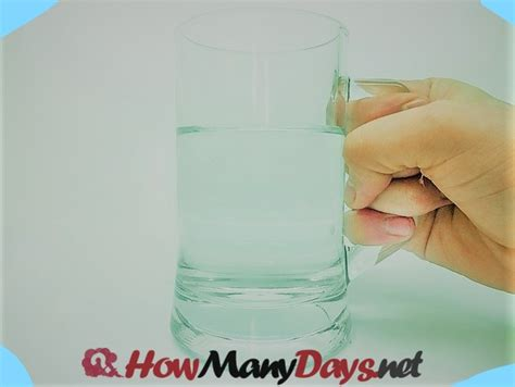 how can a go without water how many days can you go without water