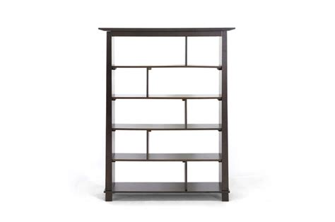 Cheap Modern Bookcase brown wood modern bookcase affordable modern furniture in chicago
