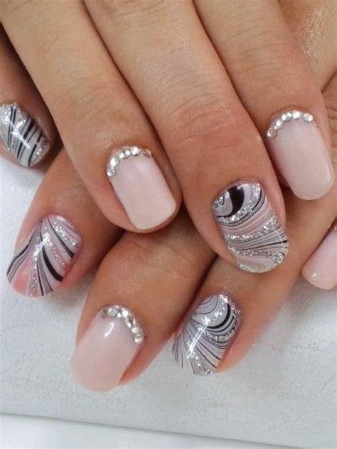 fantastische nageldesigns mit glitzer nagellack archzinenet