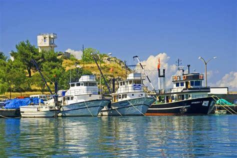 porto della turchia la costa mar nero turchia