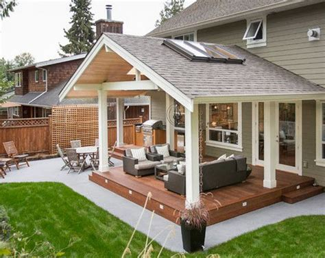 how to build covered patio how to design idea covered back patio garden design