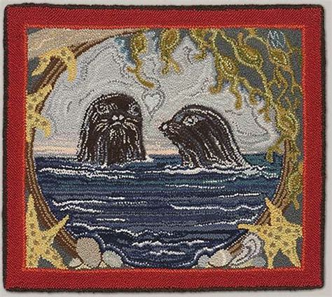 Rug Hooking Maine by 1000 Images About Punch Needle Rug Hooking On