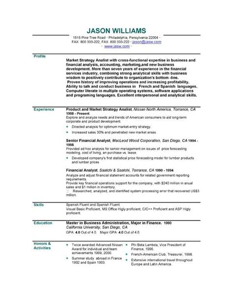 personal statement exles for resumes curriculum vitae personal statement sles http