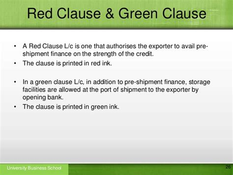 Letter Of Credit Clause In A Contract Letter Of Credit