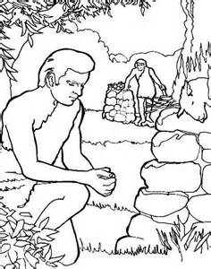 cain and abel coloring pages how to draw abel and cain coloring page coloring sky