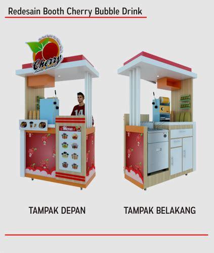 Design Booth Bubble Tea   interior booth design food beverage re desain