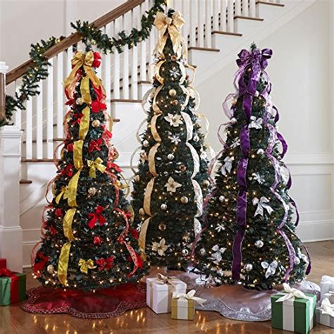 Fully Decorated Artificial Trees by The Best Pre Lit Artificial Trees A Cozy Home