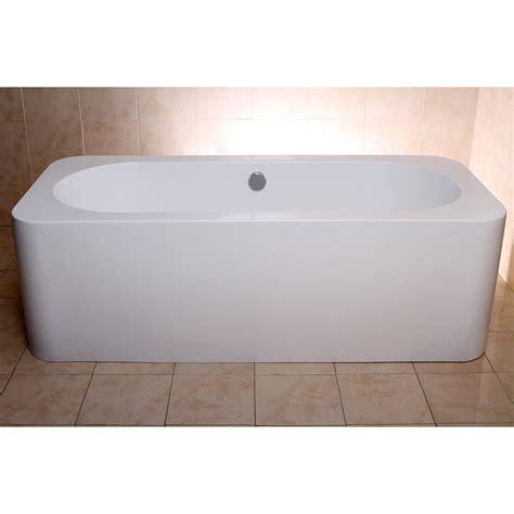 alcove bathtubs modern white rectangular kiran drop in alcove bathtub