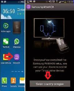 Televisi Samsung Android begini cara menjadikan hp android sebagai remote televisi