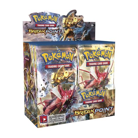 Pok 233 Mon Tcg Xy Breakpoint Display 36 Booster Packs