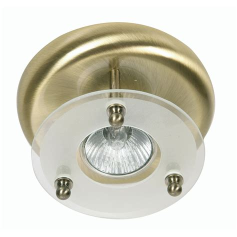 surface downlight 1x50w ceiling light fitting in antique